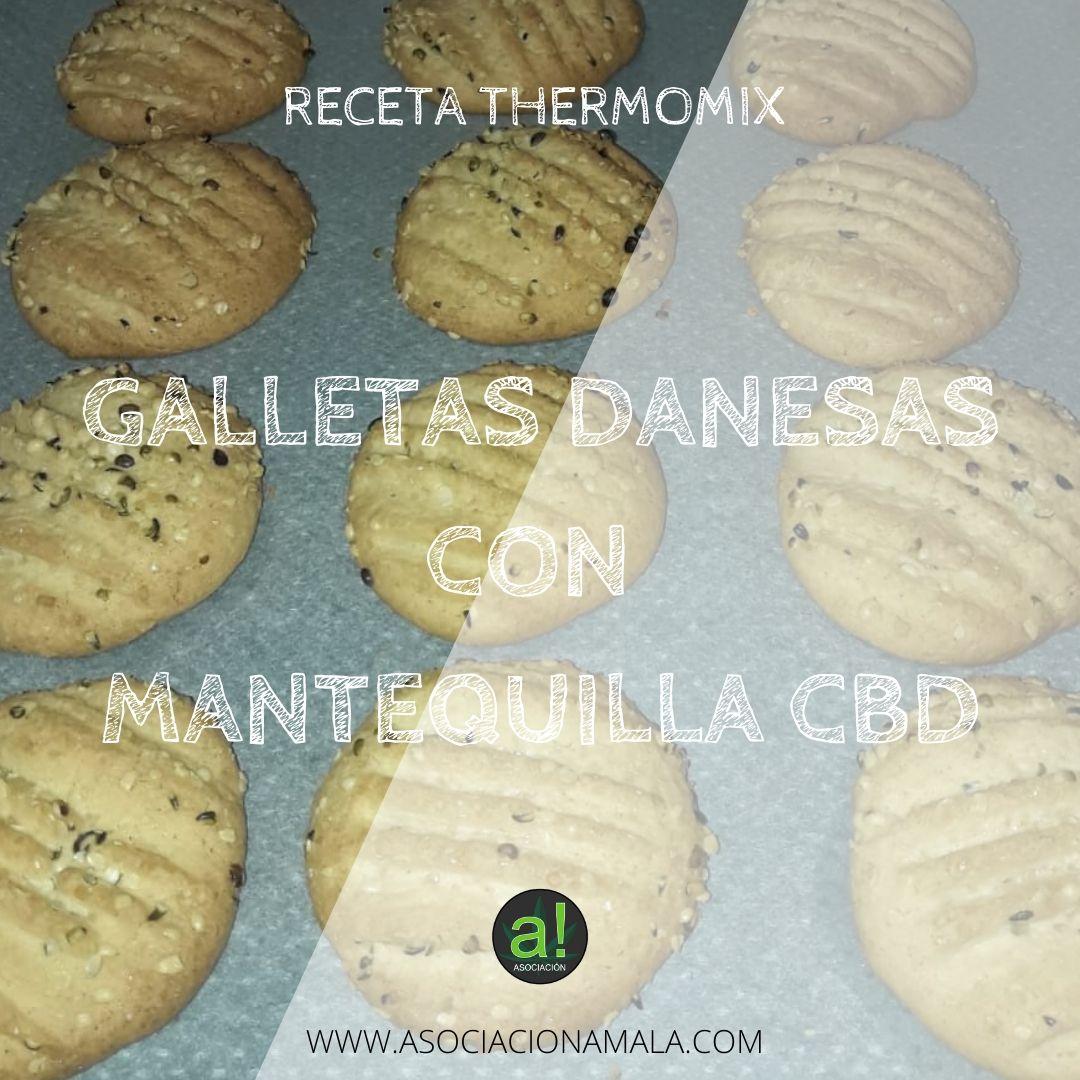 Galletas Danesas con Mantequilla CBD