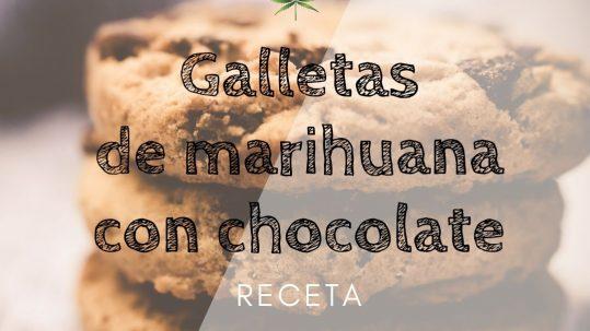 galletas de marihuana con chocolate